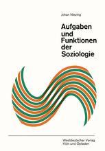 Aufgaben und Funktionen der Soziologie