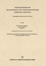 Untersuchungen über die Vorgänge bei der Zersetzung von in Azeton gelöstem Azetylen