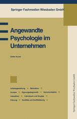 Angewandte Psychologie im Unternehmen