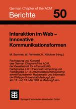 Interaktion im Web — Innovative Kommunikationsformen