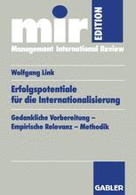Erfolgspotentiale für die Internationalisierung