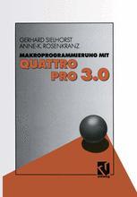 Makroprogrammierung mit QUATTRO PRO 3.0