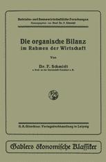 Die organische Bilanz