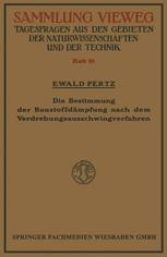 Die Bestimmung der Baustoffdämpfung nach dem Verdrehungsausschwingverfahren