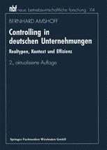 Controlling in deutschen Unternehmungen