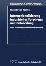 Internationalisierung industrieller Forschung und Entwicklung