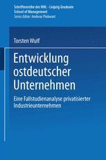 Entwicklung ostdeutscher Unternehmen