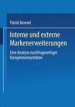Interne und externe Markenerweiterungen
