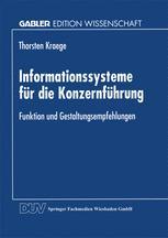 Informationssysteme für die Konzernführung