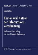 Kosten und Nutzen der Informationsverarbeitung