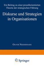 Diskurse und Strategien in Organisationen