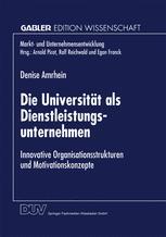 Die Universität als Dienstleistungsunternehmen