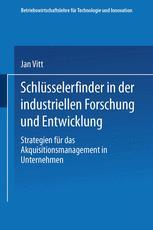 Schlüsselerfinder in der industriellen Forschung und Entwicklung