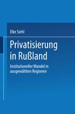 Privatisierung in Rußland
