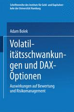 Volatilitätsschwankungen und DAX-Optionen