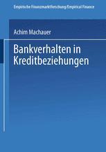 Bankverhalten in Kreditbeziehungen