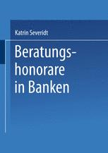 Beratungshonorare in Banken