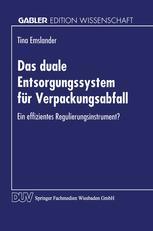 Das duale Entsorgungssystem für Verpackungsabfall