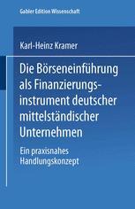 Die Börseneinführung als Finanzierungsinstrument deutscher mittelständischer Unternehmen