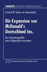 Die Expansion von McDonald's Deutschland Inc.