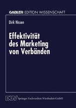 Effektivität des Marketing von Verbänden