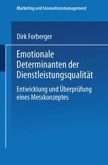 Emotionale Determinanten der Dienstleistungsqualität
