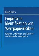 Empirische Identifikation von Wertpapierrisiken