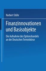 Finanzinnovationen und Basisobjekte