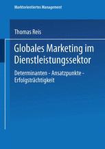 Globales Marketing im Dienstleistungssektor