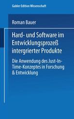 Hard- und Software im Entwicklungsprozeß integrierter Produkte