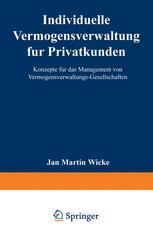 Individuelle Vermögensverwaltung für Privatkunden