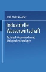 Industrielle Wasserwirtschaft