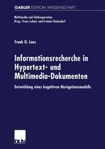 Informationsrecherche in Hypertext- und Multimedia-Dokumenten
