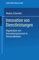 Innovation von Dienstleistungen