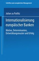Internationalisierung europäischer Banken