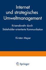 Internet und strategisches Umweltmanagement