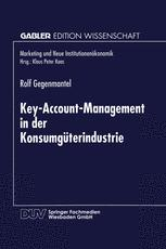 Key-Account-Management in der Konsumgüterindustrie