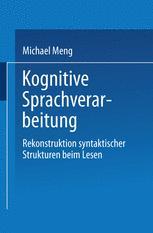 Kognitive Sprachverarbeitung
