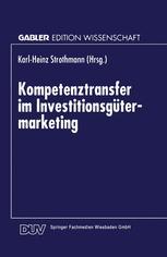 Kompetenztransfer im Investitionsgütermarketing