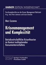 Krisenmanagement und Komplexität