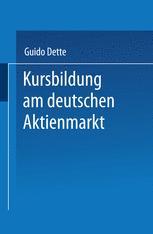 Kursbildung am deutschen Aktienmarkt