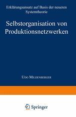 Selbstorganisation von Produktionsnetzwerken