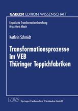 Transformationsprozesse im VEB Thüringer Teppichfabriken