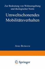 Umweltschonendes Mobilitätsverhalten