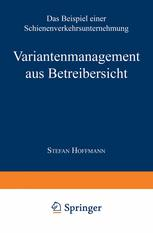 Variantenmanagement aus Betreibersicht