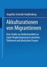 Akkulturation von Migrantinnen