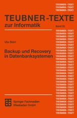 Backup und Recovery in Datenbanksystemen