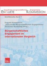 Bürgerschaftliches Engagement im internationalen Vergleich