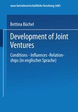 Development of Joint Ventures