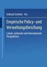 Empirische Policy- und Verwaltungsforschung
